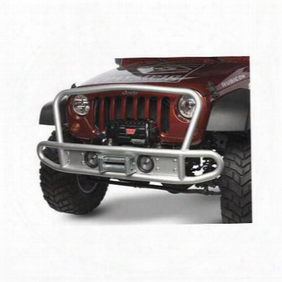 Olympic 4x4 Products Winch Mount (textured Black) - 507-174
