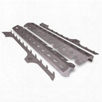 Poison Spyder Brawler Rockers In Bare Steel (bare Steel) - 18-08-200
