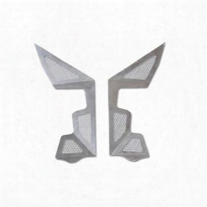Poison Spyder Defender Vented Inner Fender Panels (aluminum) - 14-02-080-03v