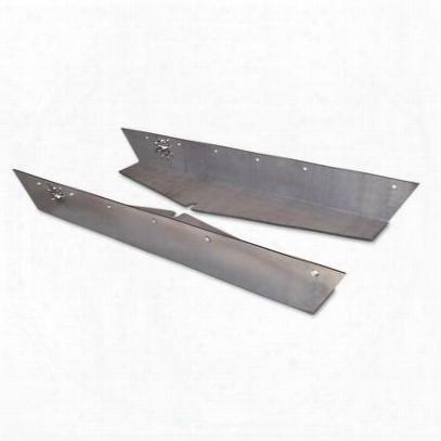 Poison Spyder Rocker Knockers (bare Steel) - 13-08-040