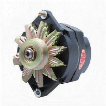 Powermaster High-output Alternator (black) - 8-56140