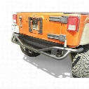 Olympic 4x4 Products Boa Extreme Rear Bumper with Spindle (Black) - 251s-174