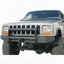 Olympic 4x4 Products Front End Guard in Gloss Black (Black) - 610-111