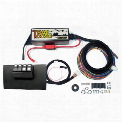 Painless Wiring Trail Rocker Accessory Control System In Black - 57002