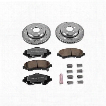 Power Stop 1-click Extreme Truck And Tow Brake Kits - K1631-36