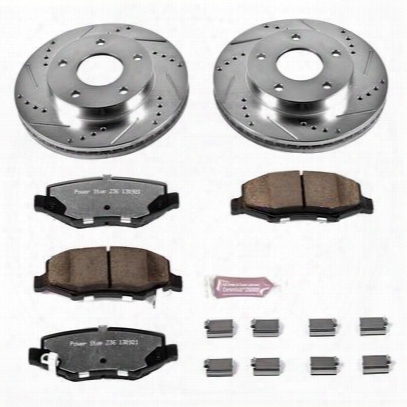 Power Stop 1-click Extreme Truck And Tow Brake Kits - K3046-36