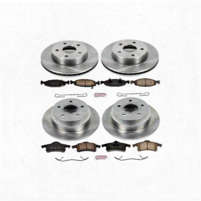 Power Stop 1-click Oe Replacement Brake Kits - Koe2148