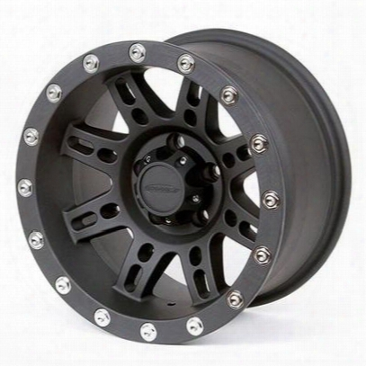 Pro Comp Series 7031, 15x8 Wheel With 5 On 4.5 Bolt Pattern - Flat Black - 7031-5865