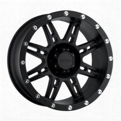 Pro Comp Series 7031, 16x8 Wheel With 5 On 4.5 Bolt Pattern - Flat Black - 7031-6865