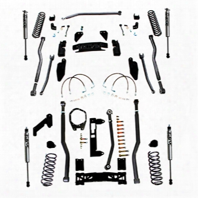 Rubicon Express 3.5 Inch Extreme Duty 4-link Front/rear 3-link Long Arm Lift Kit With Fox Performance Shocks - Jk4343fp