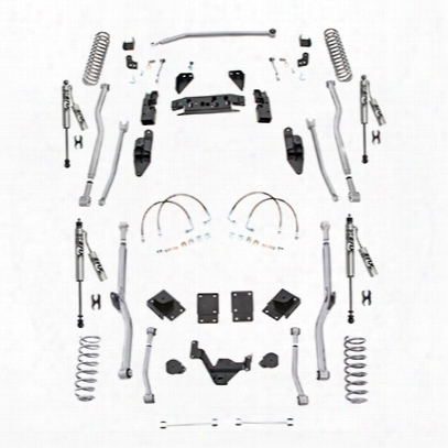 Rubicon Express 3.5 Inch Extreme Duty 4-link Long Arm Lift Kit With Fox Performance Resi Shocks - Jk4r23fpr