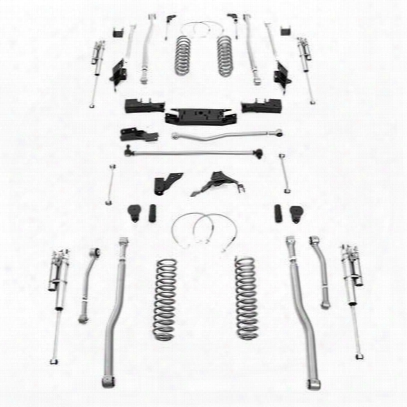 Rubicon Express 5.5 Inch Extreme Duty 4-link Long Arm Lift Kit W/shocks - Jk4445r