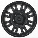 Pro Comp Series 5001, 17x8 Wheel with 6 on 5.5 Bolt Pattern - Satin Black - 5001-7883