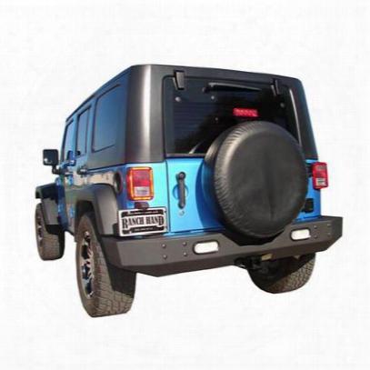 Ranch Hand Horizon Rear Bumper (black) - Hbj071bhl