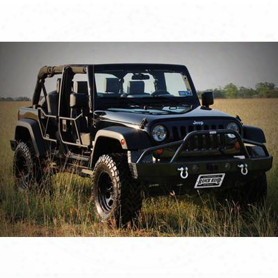 Ranch Hand Sport Bullnose Front Bumper (black) - Btj071blr