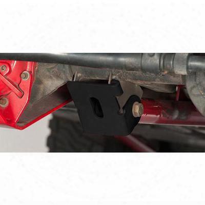 Rancho Control Arm Skid Plate (black) - Rs6210b