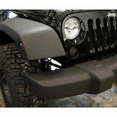 Recon Led Front Fender Lens (smoke) - 264135bk