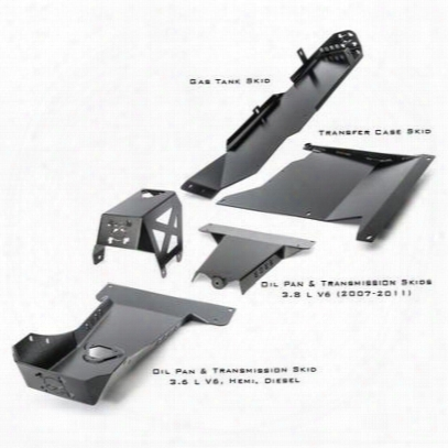 River Raider Complete Skid Plate System - R/rarm-6511-4duh