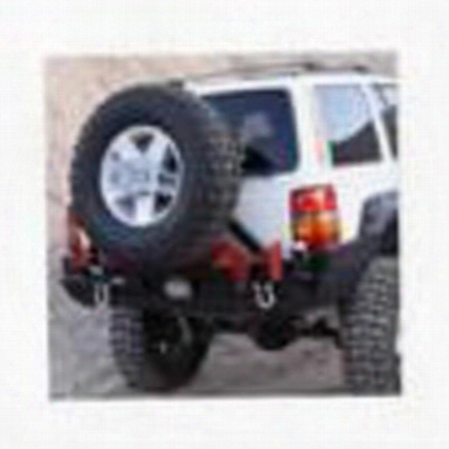 Rock Hard 4x4 Parts Patriot Rear Bumper (black) - Rh7001 - Rh-7001