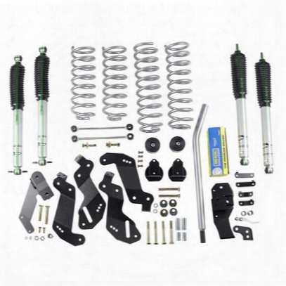 Rubicon Express 3.5 Inch Progressive Coil Sport Lift Kit With Monotube Shocks - Re7125pm