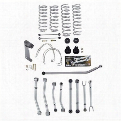 Rubicon Express 3.5 Inch Super-flex Progressive Coil Lift Kit - Re7127p
