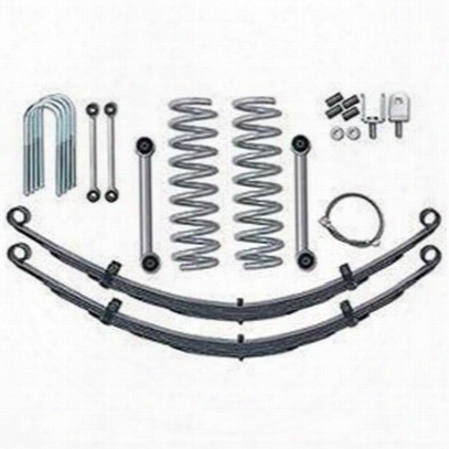 Rubicon Express 3.5 Inch Super-ride Suspension Lift Kit W/shocks - Re6026m