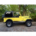 Rally Tops One-Piece Hardtop - CJ7HT