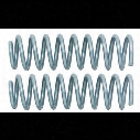 Rubicon Express Coil Springs, Front, Gray, Pair of 2 - RE1345