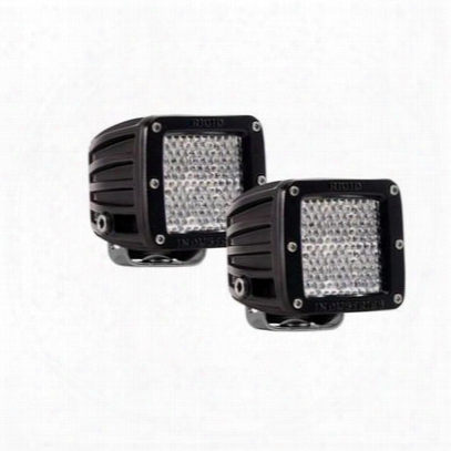 Rigid Industries Dually D2 Diffused Flood Led Light - Set Of Two - 50251
