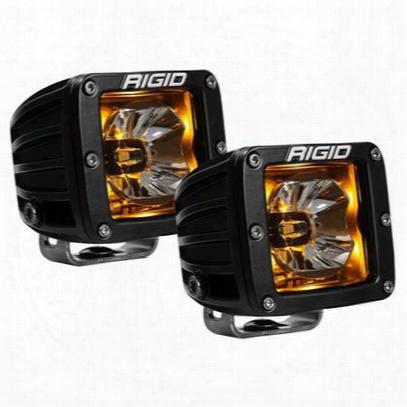 Rigid Industries Radiance Amber Back-light Pods (black) - 20204
