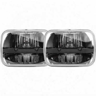 Rigid Industries Truck-lite 5 Inch X 7 Inch Led Headlight (chrome) - 55003