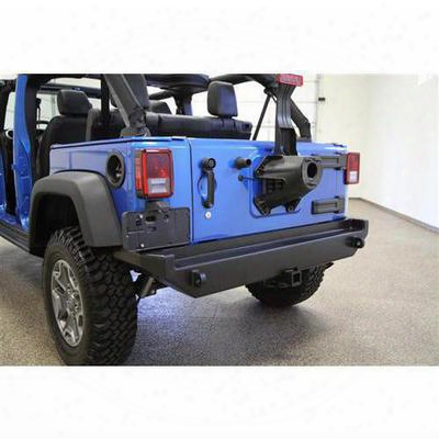 Rock Hard 4x4 Parts Patriot Series Rear Bumper (black) - Rh-5040