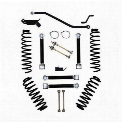 Rock Krawler 3.5 Inch Short Arm Flex Lift Kit - Tj35safs-01