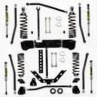 Rock Krawler 3.5 Inch Stage-1 X Factor Long Arm Lift Kit - Jk35xfla-2s1