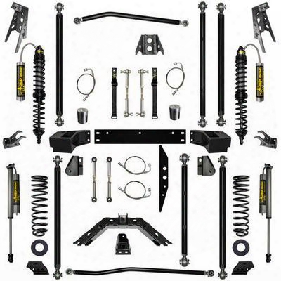Rock Krawler 3.5 Inch Stage-2 Coil Over Off-road Pro Long Arm System - Jk35corp-4s2