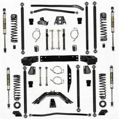 Rock Krawler 4.5 Inch Stage-1 Off-road Pro Longa Rm System - Jk45orp-2s1