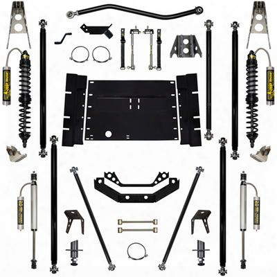Rock Krawler 5.5 Inch Coil Over Off-road Pro Long Arm System With 8 Inch Stretch- Stage 2 - Rkstj55corp-8s01s2
