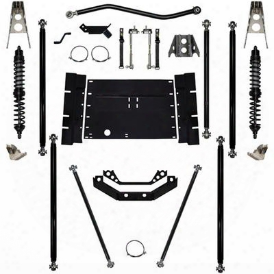 Rock Krawler 5.5 Inch Coil Over Off-road Pro Long Arm System With 12 Inch Stretch - Stage 1 - Rkstj55corp12s02s1