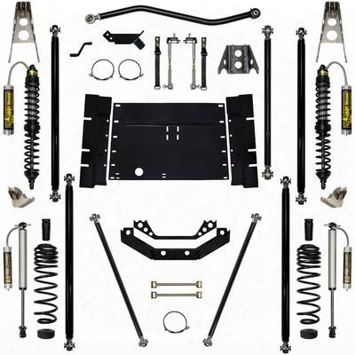 Rock Krawler 5.5 Inch Coil Over Off-road Pro Long Arm System - Stage 2 - Rkstj55corp-01s2