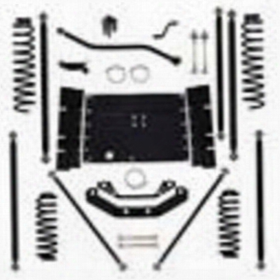 Rock Krawler 5.5 Inch Off-road Pro Long Arm Lift Kit - Tj55orp-01