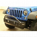 Rock Hard 4x4 Parts Patriot Series Stubby Front Bumper (Black) - RH-5041