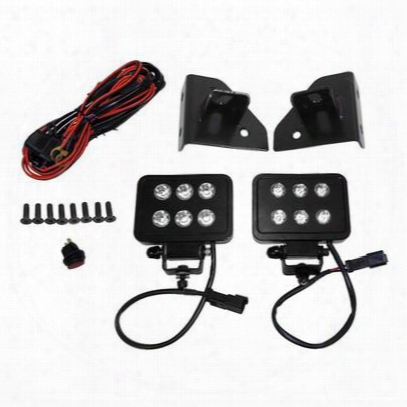 Crown Automotive Led Block Lamp And Harness Kit (black) - Rt28074