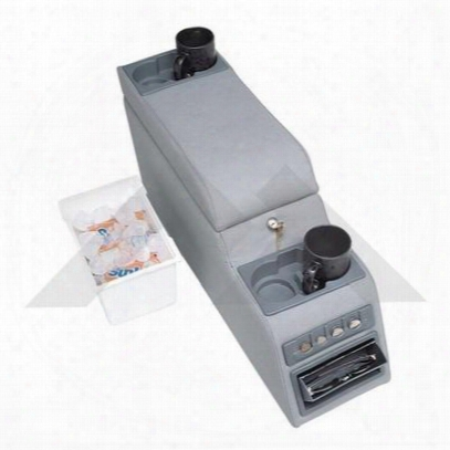 Crown Automotive Locking Center Console (gray) - Rt27008
