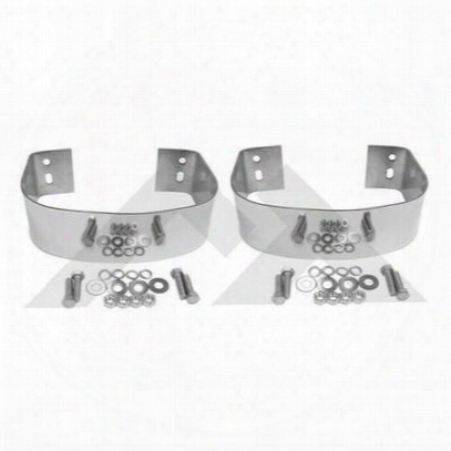 Crown Automotive Rear Bumperette Kit (stainless Steel) - Rt20020