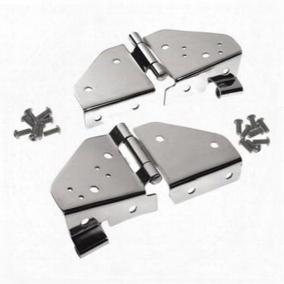 Crown Automotive Windshield Hinge Kit - Rt34017