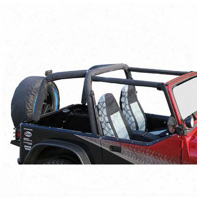 Rampage Roll Bar Pad And Cover Kit (black) - 768915