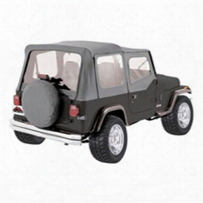Rt Off-road Complete Soft Top (gray Denim) - Ct20009