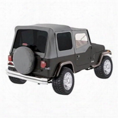 Rt Off-road Complete Soft Top With Upper Soft Doors (gray Denim) - Ct20009t