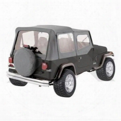 Rt Off-road Replacement Soft Top (charcoal Gray) - Rt10009