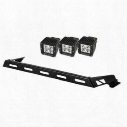 Rugged Ridge Hood Light Bar Kit - 11232.04